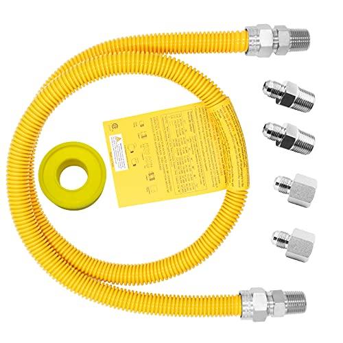 MCAMPAS 48Inch Safety-Shield Gas Appliance Kitchen...