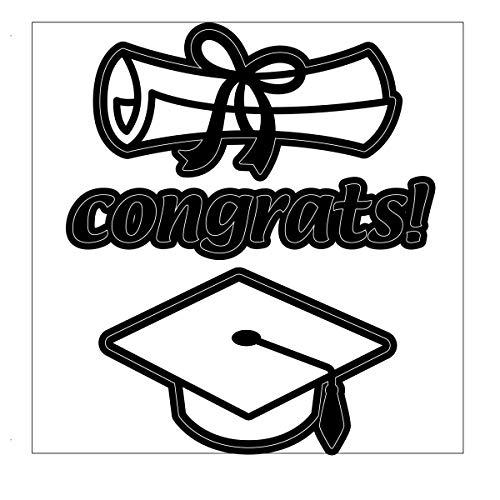 Darice 2014-91 Die Cut Graduation Theme