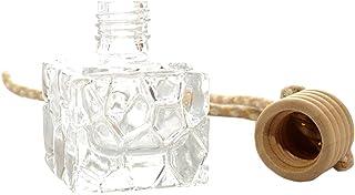 HeiHy 5 Stücke 10 ml Vintage Mini Anhänger Flaschen Leere Glas Flaschen Diffusor Flakon für Auto