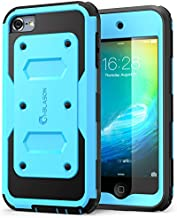i-Blason Armorbox Case Designed for iPod Touch 7/6/5, Full Body Case with Built-in Screen Protector for Apple iPod Touch 5th/6th/7th Generation, Blue
