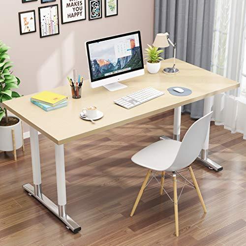 Ywdnza Computertische Compact Ecke Computer-Schreibtisch, PC Laptop Desktop Schreibtisch Arbeitsstation for Home-Office Computerschränke (Color : A, Size : 100x70x74cm)