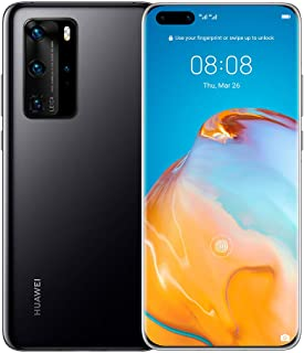 Huawei P40 Pro Single SIM and E-SIM - 256GB, 8GB RAM, 5G - Black