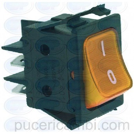 INTERRUTTORE BIPOLARE ARANCIO 16A 250V 3319934