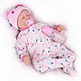 CHAREX Reborn Baby Dolls Girls, 22 inch Life Like Realistic so Real Weighted Soft Body Newborn Baby Doll for 3+