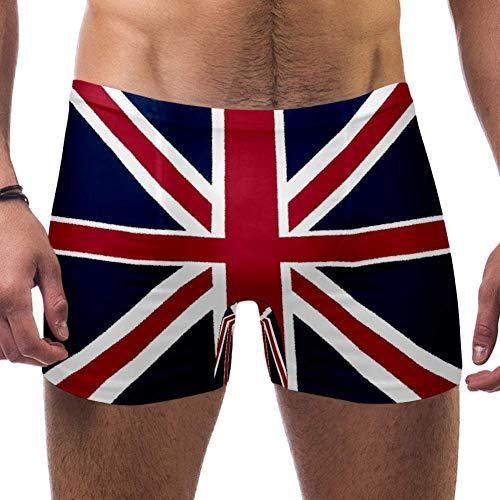 NOBRAND Herren Badehose mit Union Jack-Flagge Gr. XXL, mehrfarbig