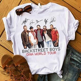Backstreet Boys DNA World Tour Band Music T-Shirt Men Women Unisex Gildan Tee