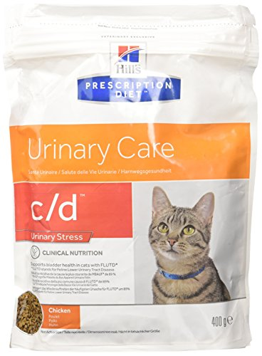 Hill's Feline C/D Urinary Stress Comida para Gatos - 400 gr