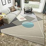 Alfombra Pelo Corto Tendencia Pastel Diseño Inspiración - Inicio Casual Costura Geométrica Impresión Comfort Suave Corta Corta Alfombra-140x200cm