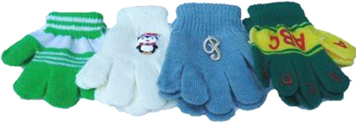 Four Pairs of Direct stock discount One Size White Max 54% OFF Stress Age for Magic Gloves Infants