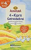 Alnatura Bio 4-Korn Getreidebrei, 250 g -