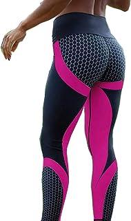 Gym Leggings Hot Honeycomb Printed Yoga Pants, Women Push Up Sport Leggings Professional Running Leggins, Sport Fitness Ti...