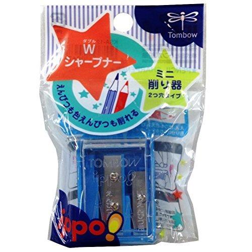 トンボ鉛筆 ミニ削り器Wシャープナーパック KSA-121 00917570 【まとめ買い10個セット】