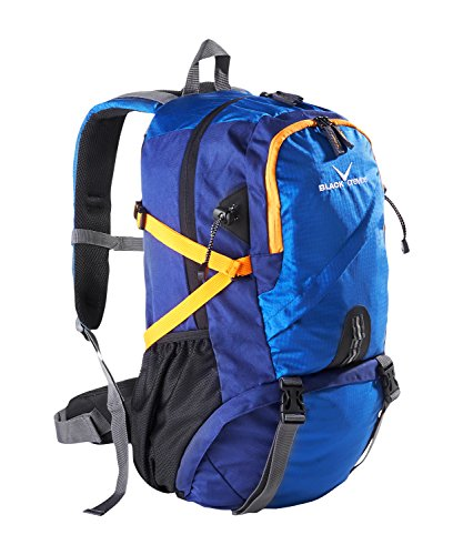 Black Embout Crevice Sac à Dos de randonnée FR:38 Bleu - Bleu