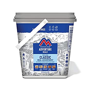 Mountain House Classic Bucket | Freeze Dried Backpacking & Camping Food | 24 Servings  0081635A