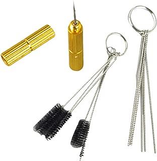 3 unit/Set aerógrafo Conjuntos, Pistola de pulverización de aerógrafo Boquilla de Limpieza Kit de Herramientas de reparación Accesorios