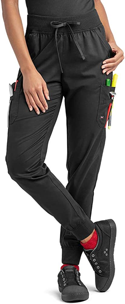 Industry Line Women's Jogger Chef Pant (2 Colors, XS-3X): Clothing, Shoes & Jewelry