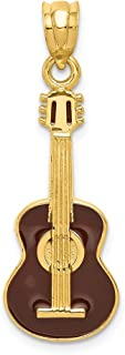 Mejor Colgante Guitarra Oro de 2020 - Mejor valorados y revisados