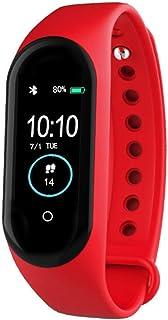 MINASAN Pulsera de fitness con pulsómetro, para hombre y mujer, resistente al agua, monitor de actividad inteligente, pulsómetro, podómetro, reloj deportivo