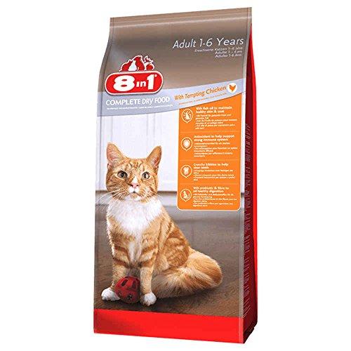 8in1 Katze Trockenfutter Erwachsen, Huhn Größe 4kg