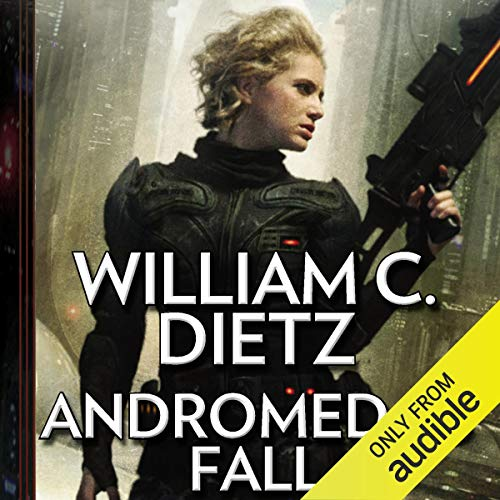 Andromeda's Fall audiobook cover art