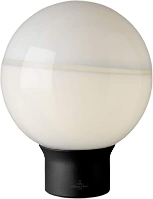 Villeroy&Boch Tokio Lampada da Tavolo, Nero/Bianco, H 24 cm, Ø 20 cm
