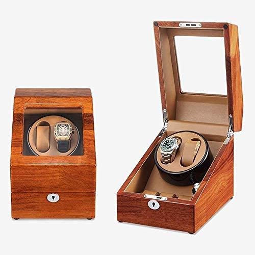 Tendencia de Moda Atractiva, Rendimiento de Alto c Shaker Solid Wood Mecanical Watch Caja de Almacenamiento automático Medidor de Transferencia Hogar Single Watch Fashion Watch Caja de Almacenamiento