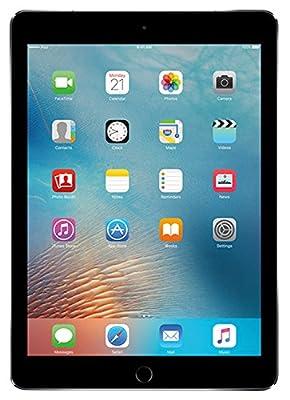 Apple iPad 9.7in (2017) WiFi (128GB, Space Gray) (Renewed)