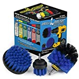 Drill Brush Power Scrubber by Useful Products Drill Brush Boat Accessories – Kayak Cleaning Kit...