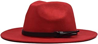 2019 Mens Womens Hats Womens Winter Fedora Hat for Women Lady Outdoor Sun Beach Hat Travel with Leather Belt Jazz Hat Tea Party Hat Outdoor Travel Casual Hat Size 56-59CM