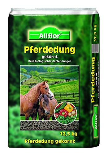 Allflor 12,5 kg Pferdedung Pferdemist organischer Gartendünger Universaldünger Dünger