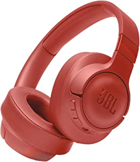 JBL T750BTNCCOR Over-Ear Noise-Cancelling Wireless Headphone - Coral (Pack of 1)