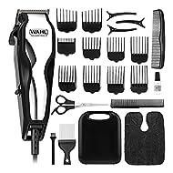 WAHL Hair Clipper, Chrome Pro Head Shaver, Men's Hair Clipping, Corded, Mains Hair Clipper Set, Clip...