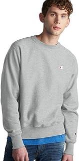 قميص رياضي رجالي بنسيج عكسي من Champion LIFE رمادي أكسفورد، X-Large