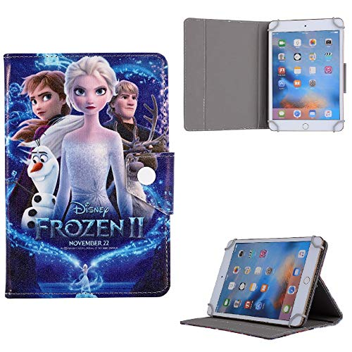 Cartoon Characters Tablet Kids Cover For Samsung Galaxy Tab A 8.0' 2019 SM-T290 T295 UK (Frozen Sister Power)
