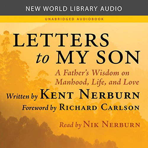 Letters to My Son audiobook cover art
