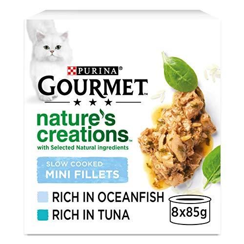 Gourmet Natures Creations Cat Food, Fish, 8 x 85g