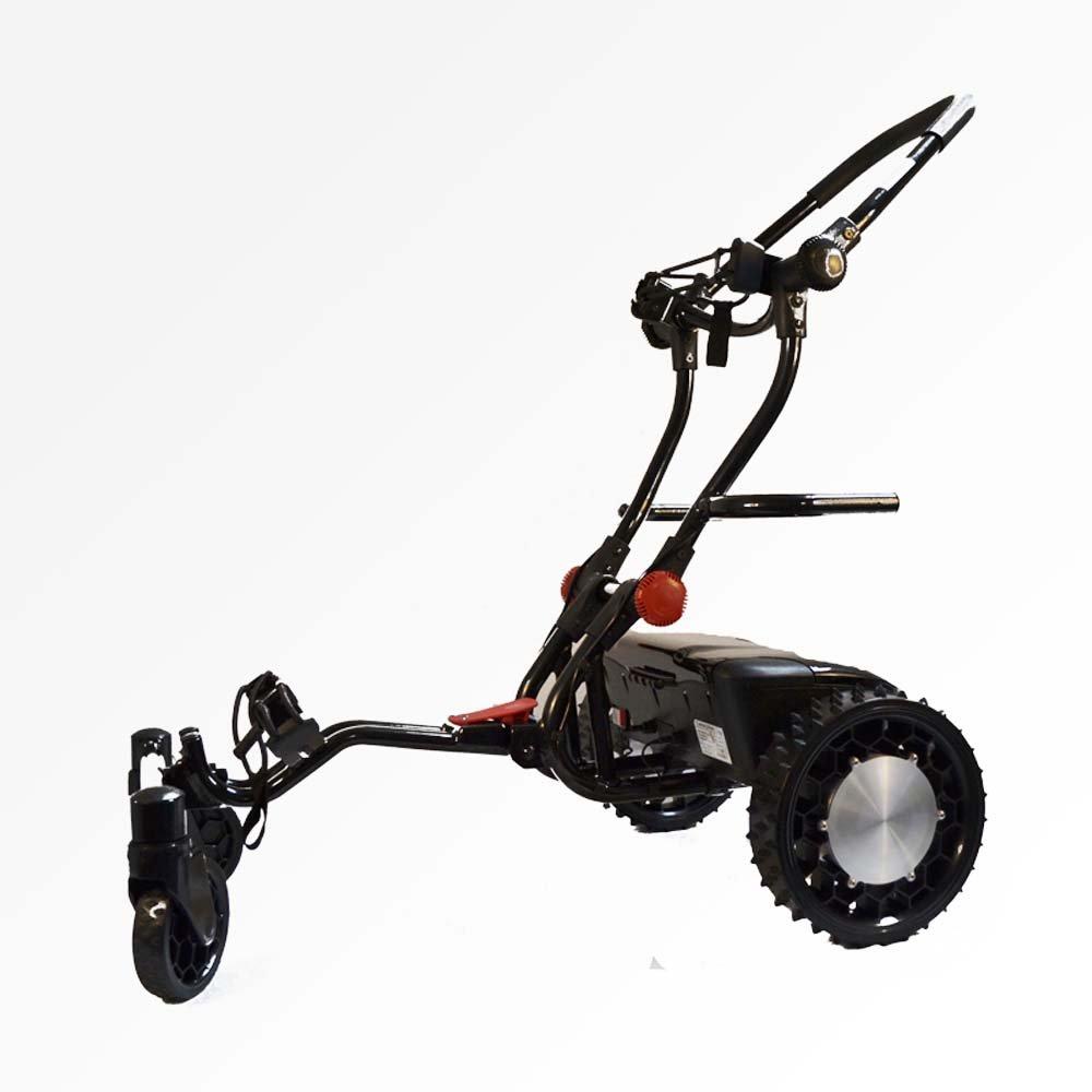 FTR Caddytrek Black Robotic Electric