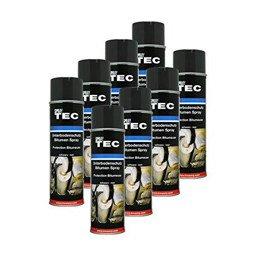Kwasny 8X 235 500 Auto-K Spray TEC Unterbodenschutz Bitumen schwarz 500ml