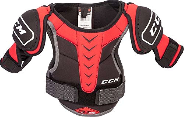 Ccm Quicklite 230 Youth Shoulder Pads BLACK RED YS
