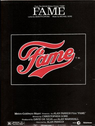 Einzelausgabe Fame für Piano Vocals and Guitar / Klavier, Gesang mit Gitarrenakkorden