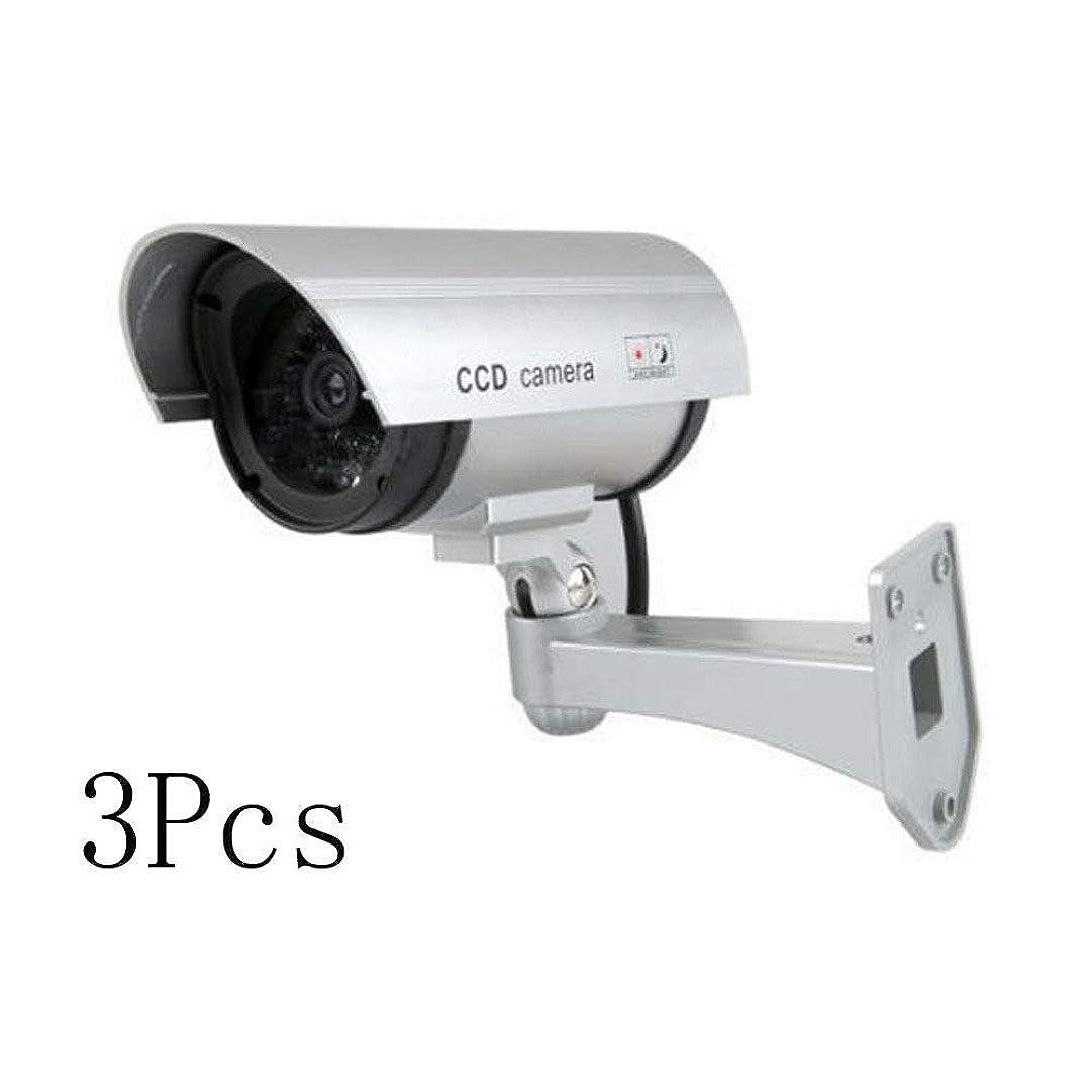 うめきインデックスストレスFidgetGear Lot3 Fake Dummy Security CCTV Camera Waterproof IR LED Outdoor Surveillance HY