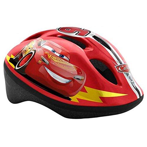 Disney Cars Kinderfahrradhelm 51-55 cm Größe S Fahrradhelm auch für Skateboard, Rollschuh Sport TÜV geprüft Lightning McQueen