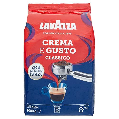 Caffe Crema e Gusto Classico ganze 1 Kg/Lavazza