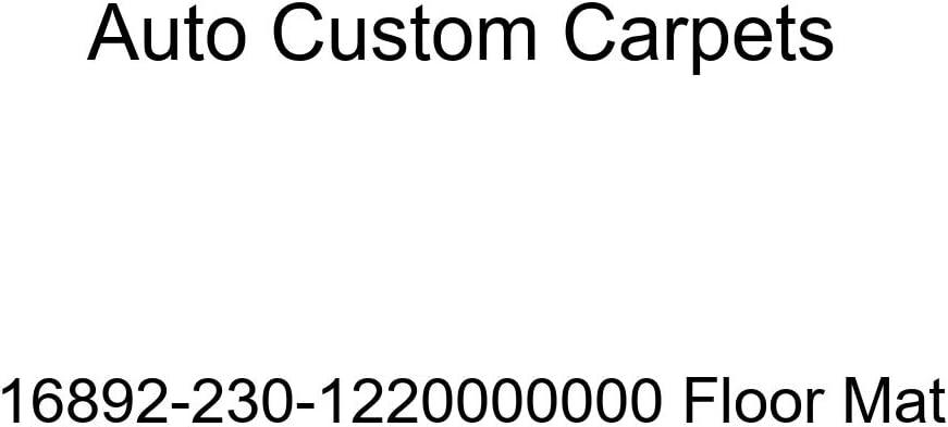 Auto Custom Carpets Mat Daily bargain sale Floor 16892-230-1220000000 Max 86% OFF