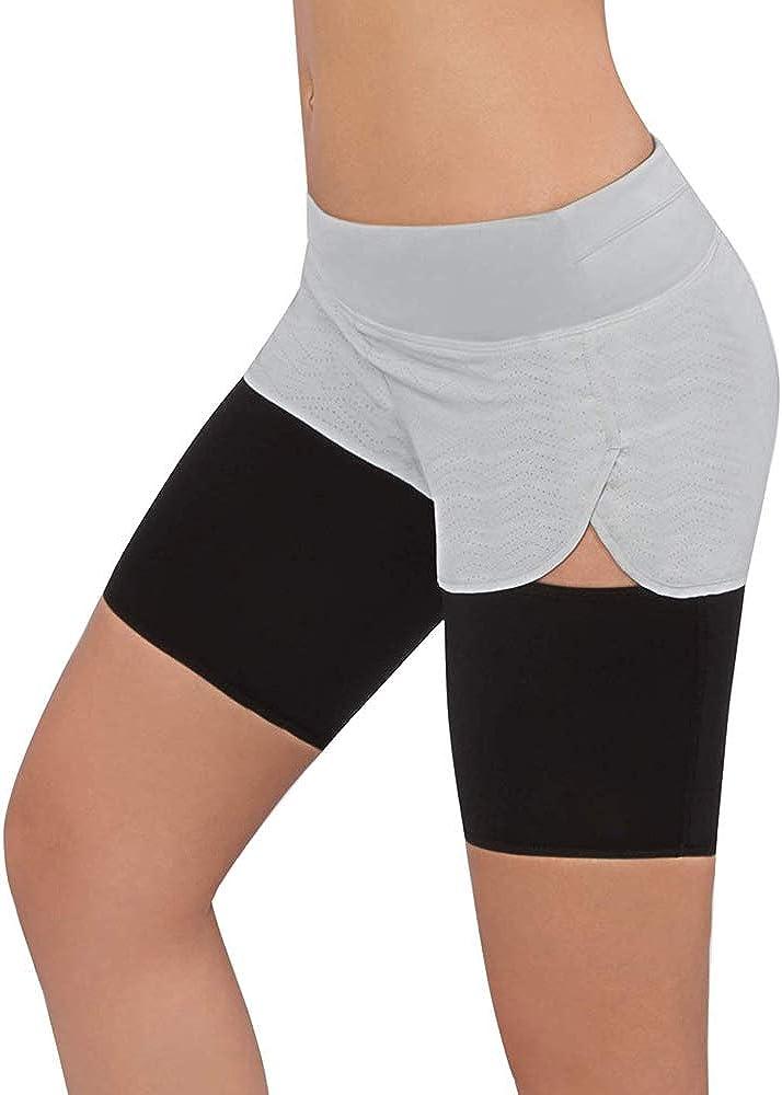 Shujin 1PC Sauna Bein Abnehmen Oberschenkel G/ürtel f/ür Gewicht Verlieren Body Shaper Kompression Oberschenkel Wrap Slimmer Sweat Band Stretch Wrap