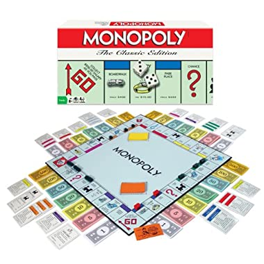 Winning Moves Games Monopoly Board Game The Classic Edition
