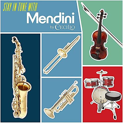 Mendini By Cecilio Bb Trumpet - Trumpets for Beginner or Advanced Student w/Case, Cloth, Oil, Gloves - Brass Musical Instruments For Kids & Adults