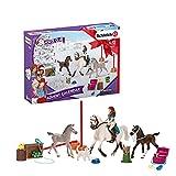 Schleich 98270 Playset - Calendario de Adviento Horse Club 2021 (Horse Club)