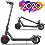 Emaxusa Electric Scooter for Adults,UL Certified,8.5' Solid Tires 350W Motor Speed 15 MPH,Up to 16 Miles,Long Range Battery,Portable Folding Electric Scooters for Adults (Solid Tires Black)