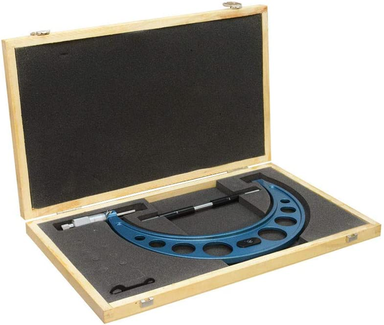 MH GLOBAL 8-9 Inch Outside Max 67% OFF Spring new work Wood Graduation .0001 Micrometer